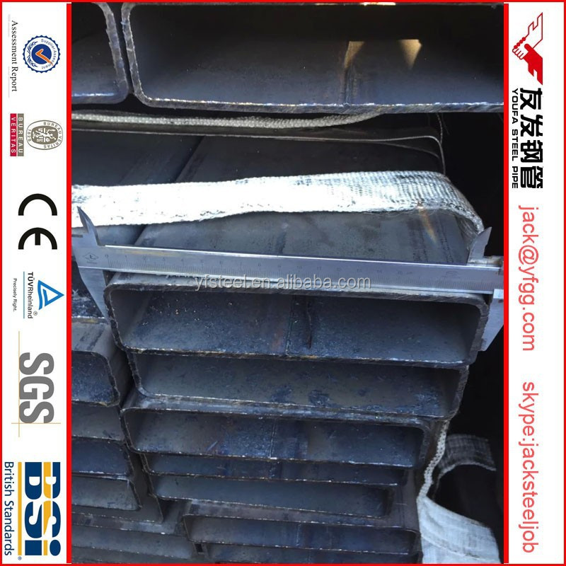 200 x 50 x 2.3mm rectangular steel profile by LGJ