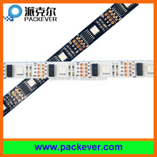 Black or white pcb 5VDC epistar chip addressable digital RGB ws2801 pixel LED strip