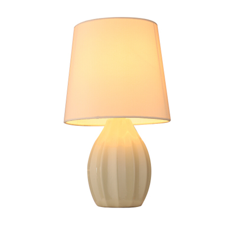 BT0153 ripple ceramic base table lamp