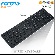 Multimedia Wired 2016 New Products Hot Sale Keyboard Best LED USB eclado,Laptop Keyboard Prices,PC Computer clavier