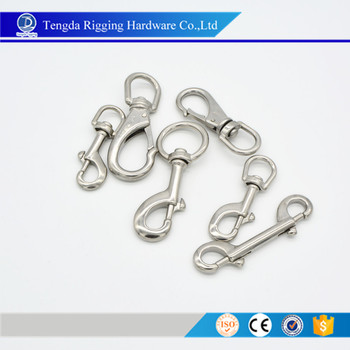 stainless steel snap hooks bolt hook swivel eye bolt snap