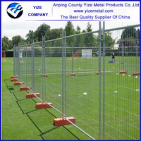 australia standard galvanized removable fencing temporary fence panels hot sale