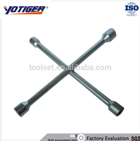 Auto wheel tire repair tool, tire changing cross socket wrench