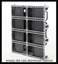 Die-casting Aluminum cabinet 640*640mm P5 full color outdoors led display cabinet