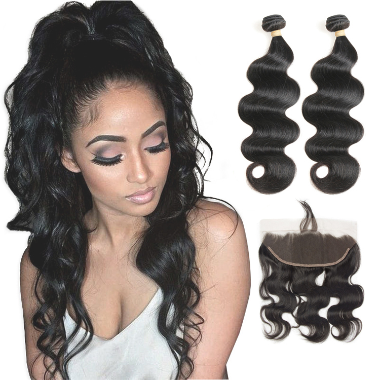 Lsy Wholesale10A Cuticle Aligned Hair <strong>Weave</strong> With 13*4 Ear To Ear Frontal, Raw Virgin Mink Brazilian Body Wave Hair <strong>Weave</strong>