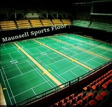 Factory Directly Sale PVC / Vinyl Badminton Sport Flooring Surface