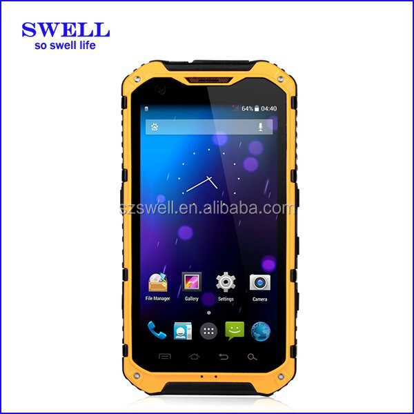 High-end Fashion IP68 Android Smart phones A9 GPS AGPS NFC phone mobile