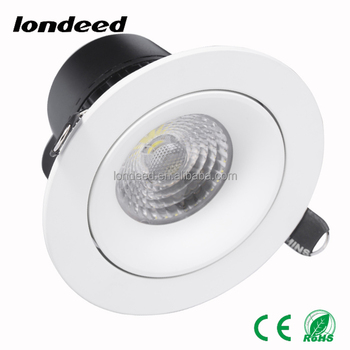 Dimmable aluminum 2 years Warranty 6500k 5w home indoor decorative led ceiling lighting