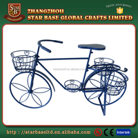 Hot sale cool design decorative metal bicycle for flower pot