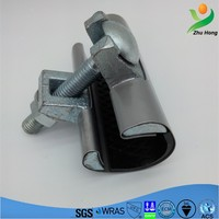 SJW-H exhaust water pipe repair connector/stainless steel female stamping and welding small pipe repair clamp