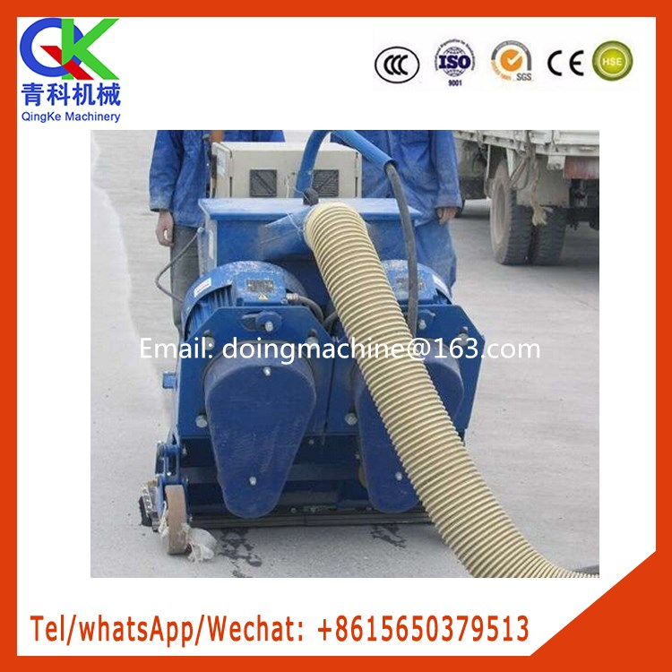 Large plate moving shot blasting machine