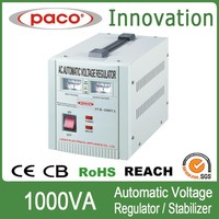 1kva low high ac voltage regulator 230v 110v ac/single pahse 1000w voltage stabilizer circuit protection
