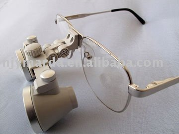 Flip-up Waterproof CH-F 3x Dental Loupe Magnifier/ Binocular Surgical Loupes