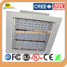 Gas station factory roof light 150w led canopy
