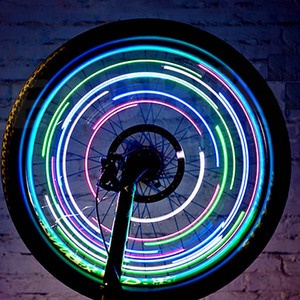 Colorful bike usb light wheel led light spoke light