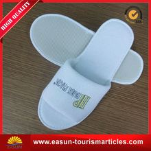 free sample five star luxury hotel slippers disposable indoor slipper open toe disposable slipper