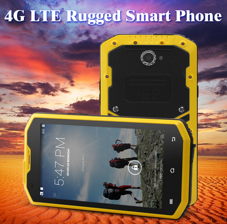 Hot IPS 960*540 unlock rugged mobile MSM8691 Quad-core 1G+8G rugged phone dual sim ip68 waterproof smartphone 4g
