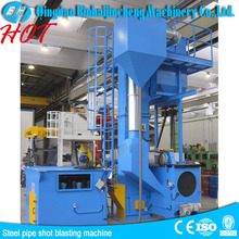 Q6920 steel plate and steel section shot blasting machine