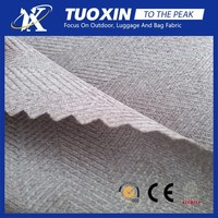 100% polyester spandex fabric/herringbone cation fabric with TPU