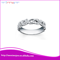 Fashion jewelry white gold finger ring rings design for women with price