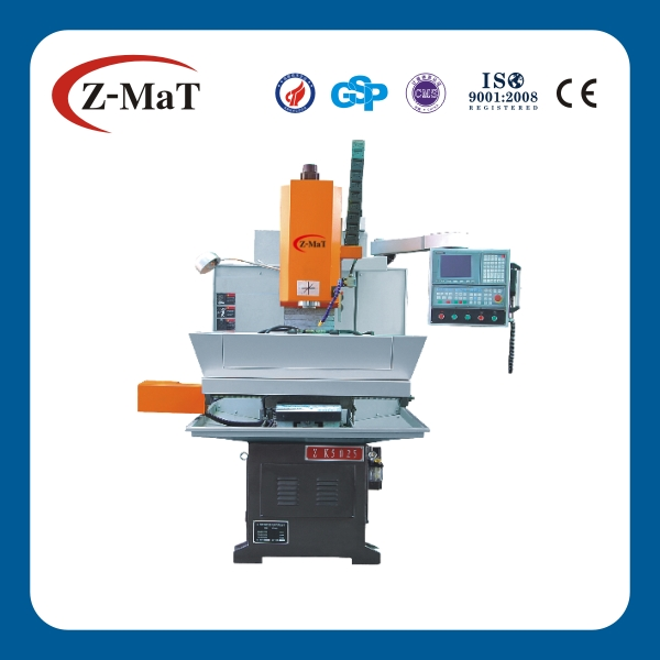 ZXK5025 rigid guide way cnc small maize milling machine