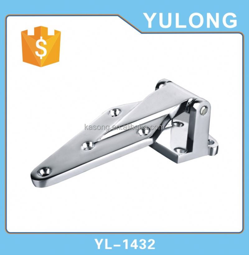 Soft close cabinet door damper pallet collar hinges