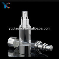 Transparent Small Mouth Airless Aluminum Spray Bottle