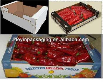 single wall carton box for food