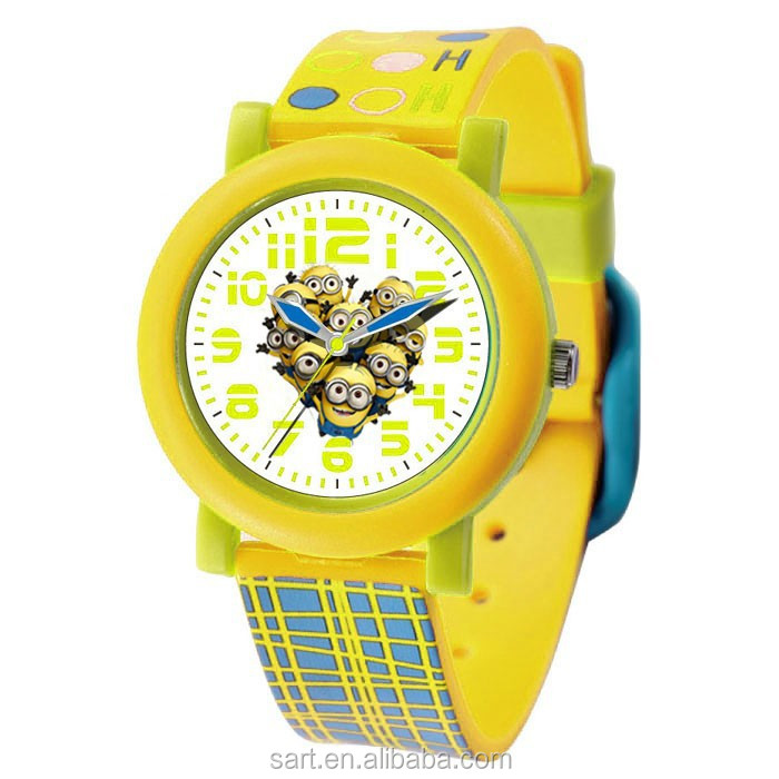 Customized Various Different Kids Favorite Minion Watch