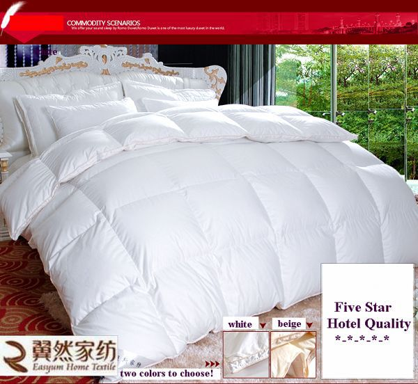 wholesale comforter sets white duck feather down comforter home products