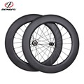 27mm width carbon road bike wheels 700C 86mm height road bicycle wheels carbon