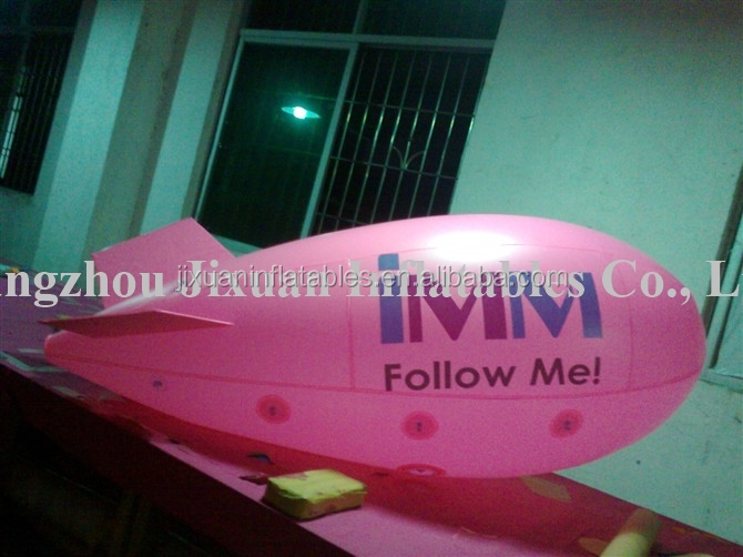 Professional large inflatable rc airship outdoor
