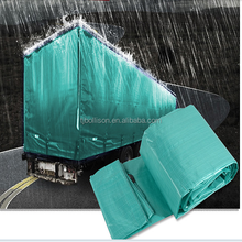 Long Time Durability Top Quality 10' x 10' Green Poly Tarps Used Tarps for Truck Cover