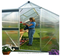 hydroponic grow systems aluminium garden greenhouse