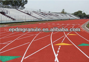 rubber tile for outdoor running track