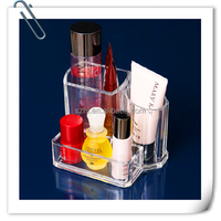 Acrylic brush holder, makeup organizer, beauty organizer