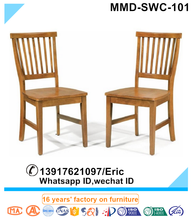 Home Furniture Styles Wood Side Chair in Oak Finish ,small wooden chair,dining chair modern wooden