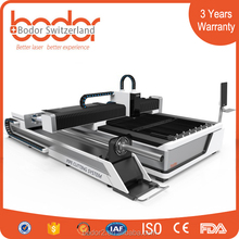 laser carbon steel plate cutting machine / stainless steel fiber laser cutting