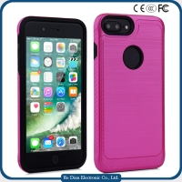 Strong Protective Mobile Phone Case PC+ TPU 2 in 1 Hybrid Phone Case For iPhone 7 Plus