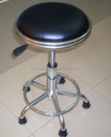 PU leather ESD laboratory round stool and chair