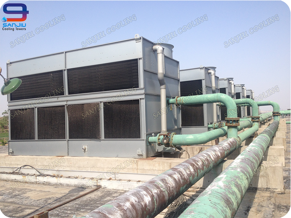 50 m3/h Cross Flow Closed Liquid Cooling Tower