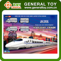 High Speed Funny Electric Bullet Train Toy