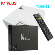 2016 K1 Plus Kodi15.2 Android 5.1 Lollipop Amlogic S905 Quad Core Ott Tv Box