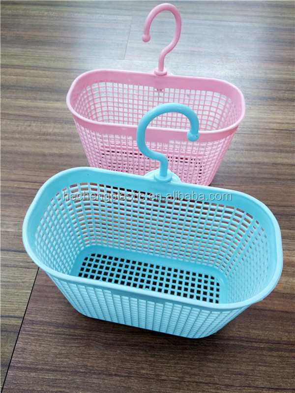 plastic mini basket with hook