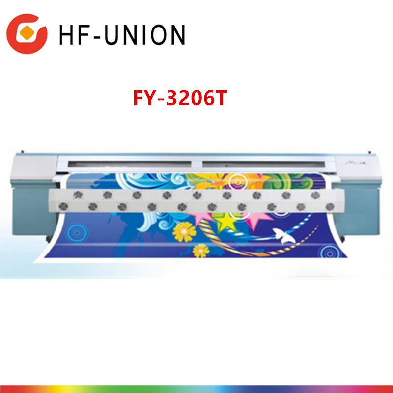 Infinity Advertisement FY-3206T CYMKLCLM 6printing colors wide format solvent printer used digital flex banner printing machine