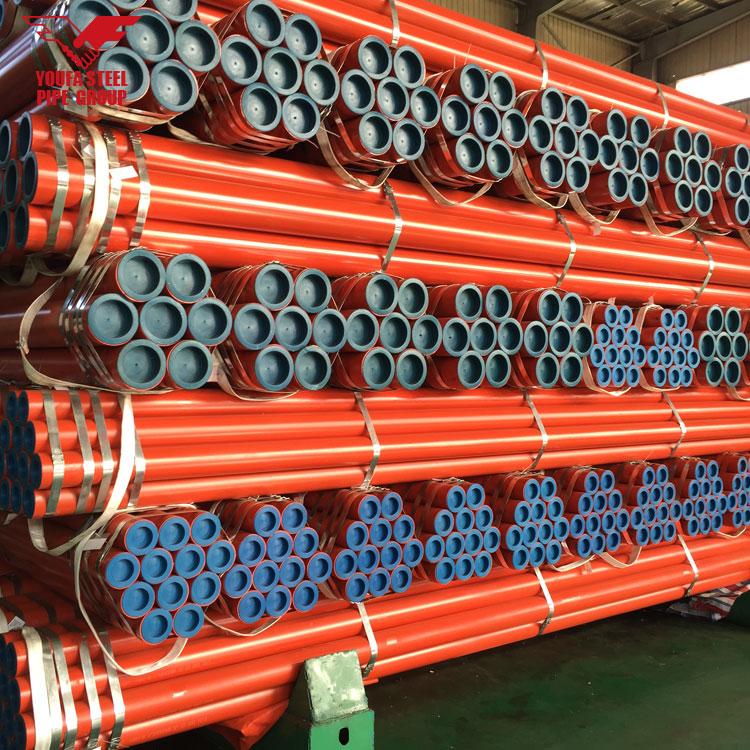 Good Quality Ms Round Pipe Weight Chart Black Iron Pipe