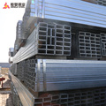 50*70*3.5 mm Galvanized rectangular steel pipe steel tube