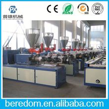 High Output Hot Sales Pvc Groove Pipe Production Line