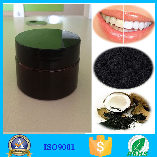 ultra fine 100% coconut shell teeth whitening charcoal powder