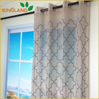 India market Hot sale turkish curtains fabric